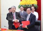 Đảng ủy Than Quảng Ninh và Thành ủy Hạ Long ký quy chế phối hợp