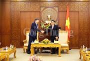 Lãnh đạo tỉnh Khánh Hoà tiếp đoàn quan chức cấp cao Nga - APEC 2017