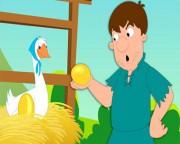 Con ngỗng và quả trứng vàng