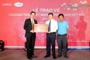 MobiFone tặng vé tàu cho 1.200 công nhân khu công nghiệp về quê ăn Tết