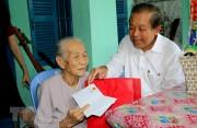 Phó Thủ tướng Trương Hòa Bình thăm và chúc Tết tỉnh Bình Thuận
