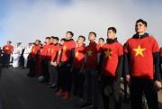 Lễ rước đuốc, thượng cờ khí thế của U23 Việt Nam trên nóc nhà Đông Dương
