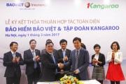 Tổng công ty Bảo hiểm Bảo Việt và Tập đoàn Kangaroo ký hợp tác toàn diện