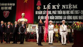 dai hoc hue ky niem 60 nam thanh lap va don huan chuong lao dong hang nhat