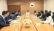 Bộ trưởng Bộ Công Thương hội kiến với Chủ tịch Thượng viện Philippines
