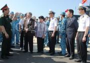 Đoàn công tác Bộ Công Thương thăm và làm việc tại Bộ Tư lệnh Vùng 4 Hải quân