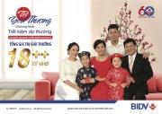 """Chương trình tiết kiệm dự thưởng """"Tết yêu thương"""" của BIDV"""