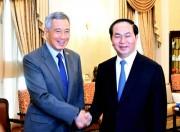 Thủ tướng Singapore Lý Hiển Long lần thứ 3 sang thăm Việt Nam