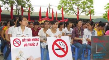Ngành y tế nói không với thuốc lá