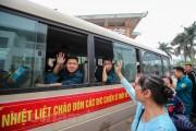 Hà Nội- Những hình ảnh xúc động tại lễ giao nhận quân 2018