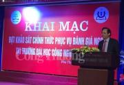 Trường ĐH Công nghiệp Việt Trì chính thức khảo sát phục vụ đánh giá ngoài