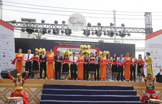 khai mac hoi cho trien lam chuyen nganh ca phe lan thu 7 nam 2019