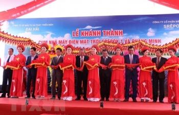 pho thu tuong du le khanh thanh cum nha may dien mat troi tai dak lak