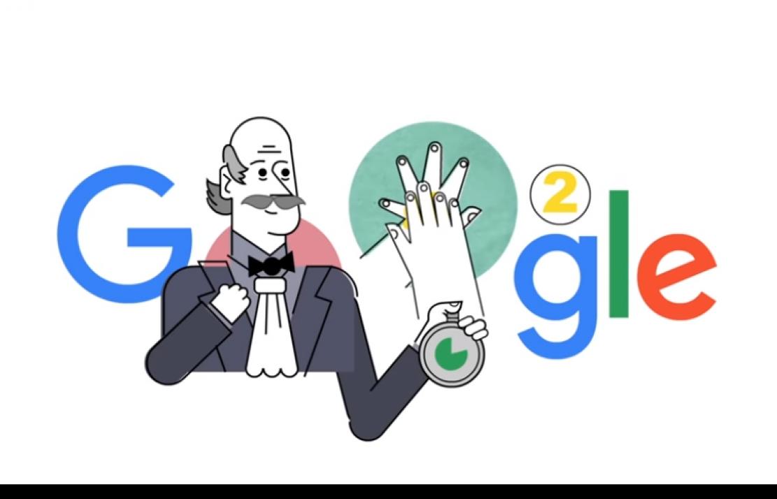 google vinh danh cha de cua sang kien rua tay