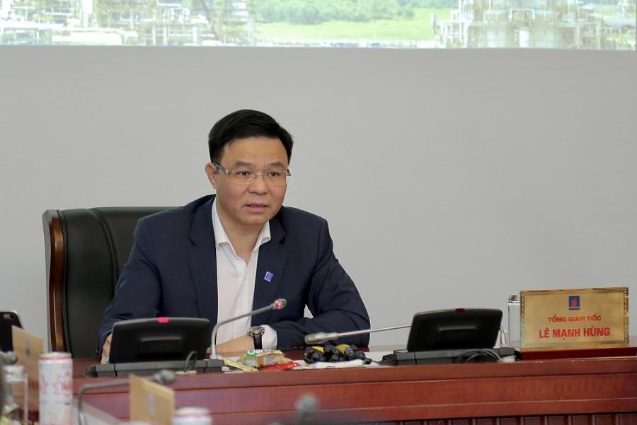 Tổng giám đốc Lê Mạnh Hùng