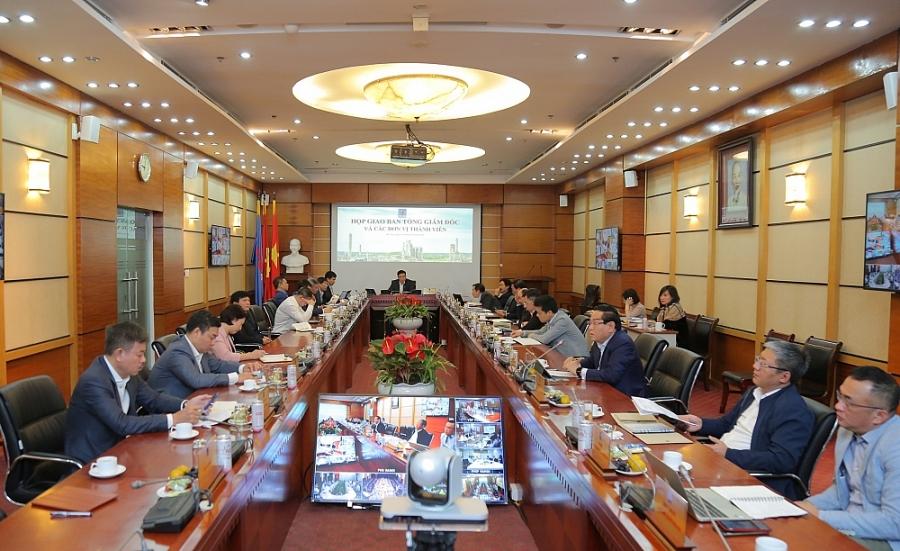 Toàn cảnh họp giao ban lãnh đạo Petrovietnam và lãnh đạo các đơn vị thành viên