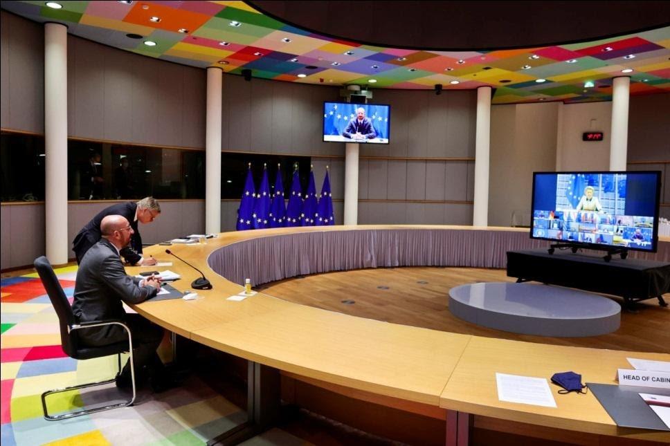 Các nhà lãnh đạo EU họp khẩn để ứng phó với làn sóng Covid thứ ba