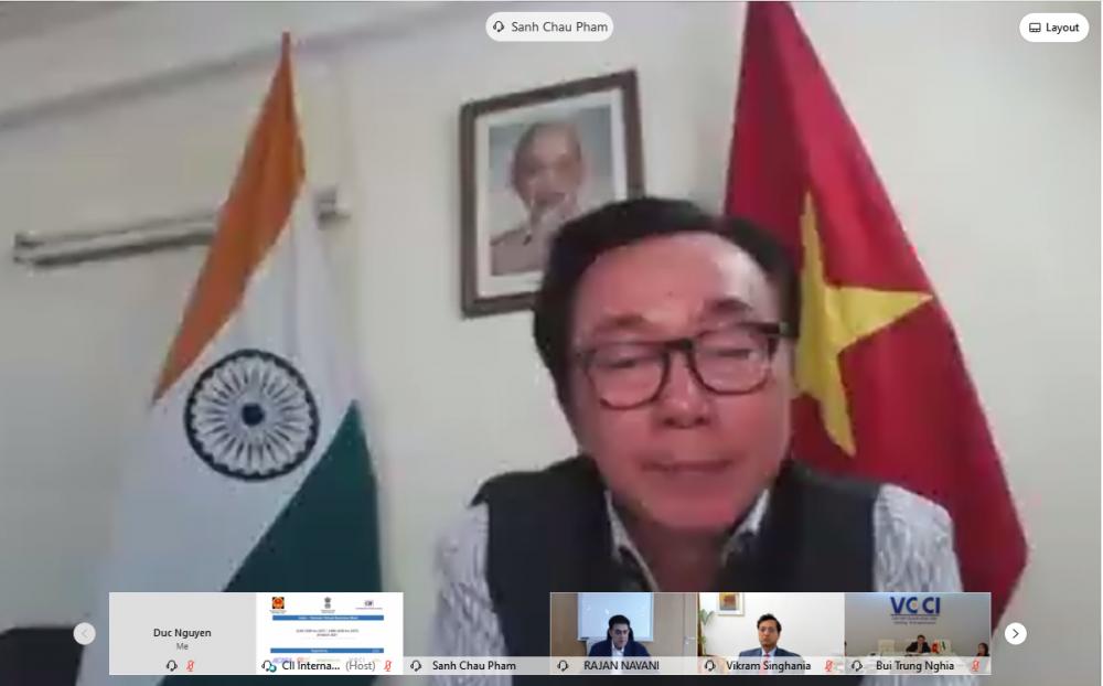 Diễn đàn kết nối doanh nghiệp Việt Nam - Ấn Độ 2021