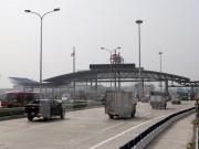 Bắt đầu dỡ bỏ trạm thu phí Đại Xuyên trên cao tốc Cầu Giẽ-Ninh Bình