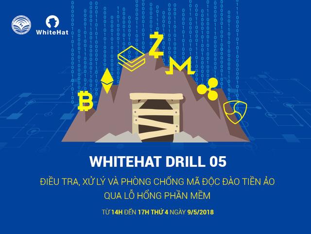 Diễn tập An toàn thông tin mạng WhiteHat Drill 05