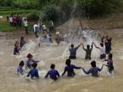 Tết Té nước của dân tộc Lào là Di sản văn hóa phi vật thể quốc gia