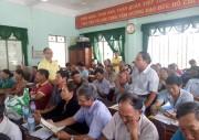 Nông dân huyện Hoài Nhơn (Bình Định) phấn khởi khi sử dụng Đạm Cà Mau