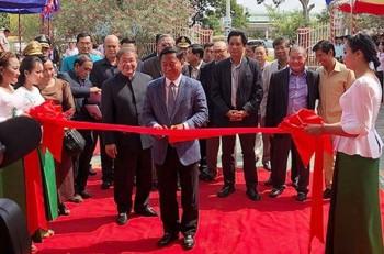 Việt Nam tài trợ xây Đài phát thanh tỉnh Kompong Speu của Campuchia
