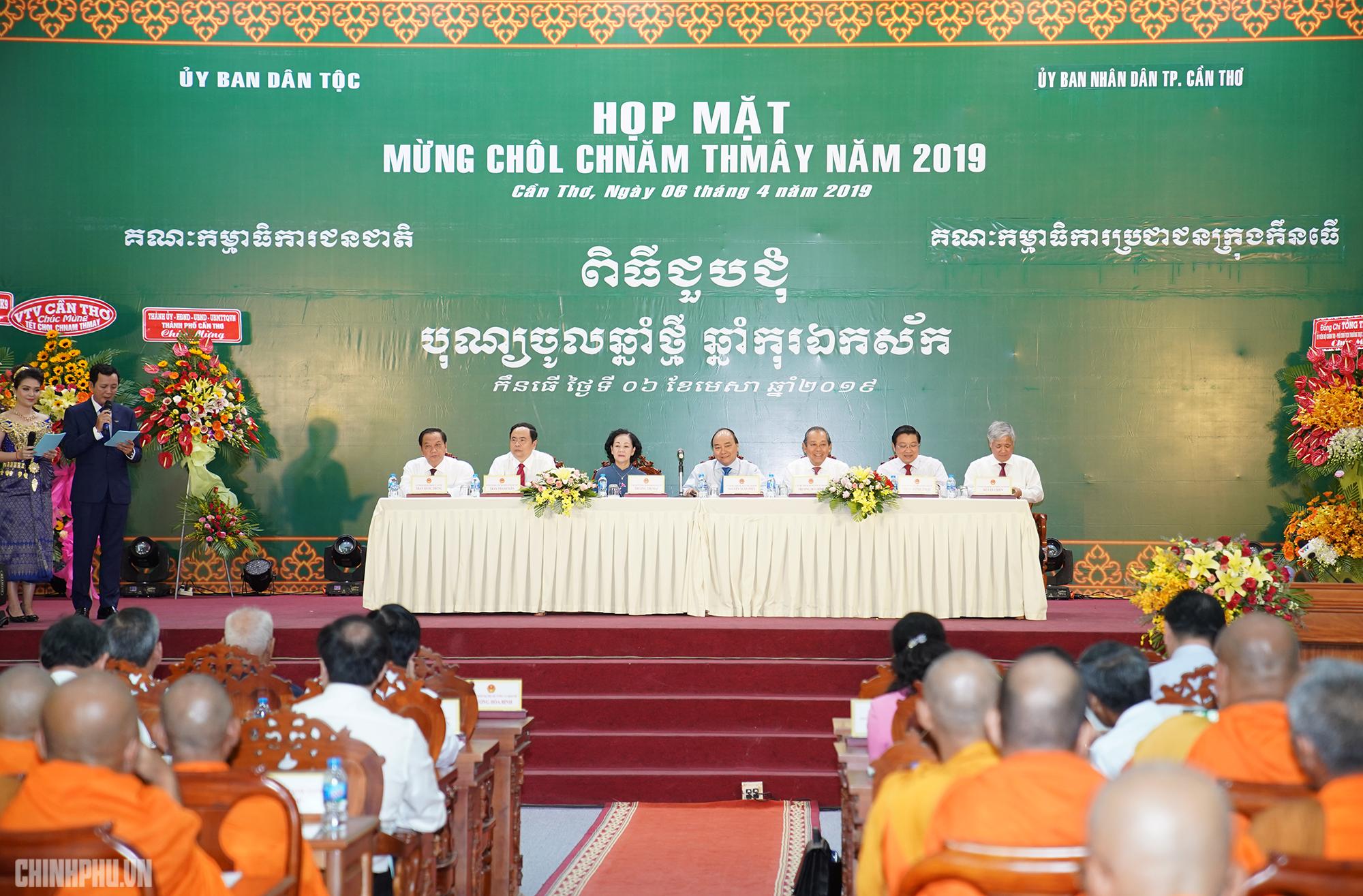 de moi ho dan nguoi khmer duoc huong tron ven tet chol chnam thmay