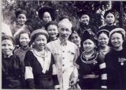 Hoạt động văn hóa chủ đề Bác Hồ với các dân tộc Việt Nam