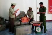 Phú Yên: Tạm giữ hơn 1 tấn mứt dẻo không hạn sử dụng
