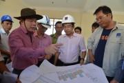 Phó Chủ tịch Quảng Ngãi khảo sát khu tái định cư Dự án NCMR NMLD Dung Quất