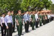 An táng 107 hài cốt liệt sĩ hy sinh ở Lào