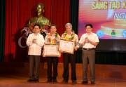 Trao giải thưởng Sáng tạo Khoa học Công nghệ Nghệ An năm 2017