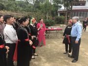 Bộ trưởng, Chủ nhiệm UBDT Đỗ Văn Chiến tiếp xúc cử tri tỉnh Tuyên Quang
