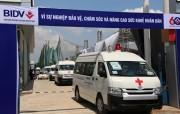 BIDV tặng 46 xe cứu thương cho ngành Y tế
