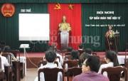 Cục Thuế Thừa Thiên Huế triển khai tập huấn hoàn thuế điện tử