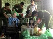 Đà Nẵng: Liên tiếp phát hiện lượng lớn thực phẩm bẩn