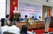 Giảng viên các trường đại học nói về đầu tư nước ngoài tại châu Á