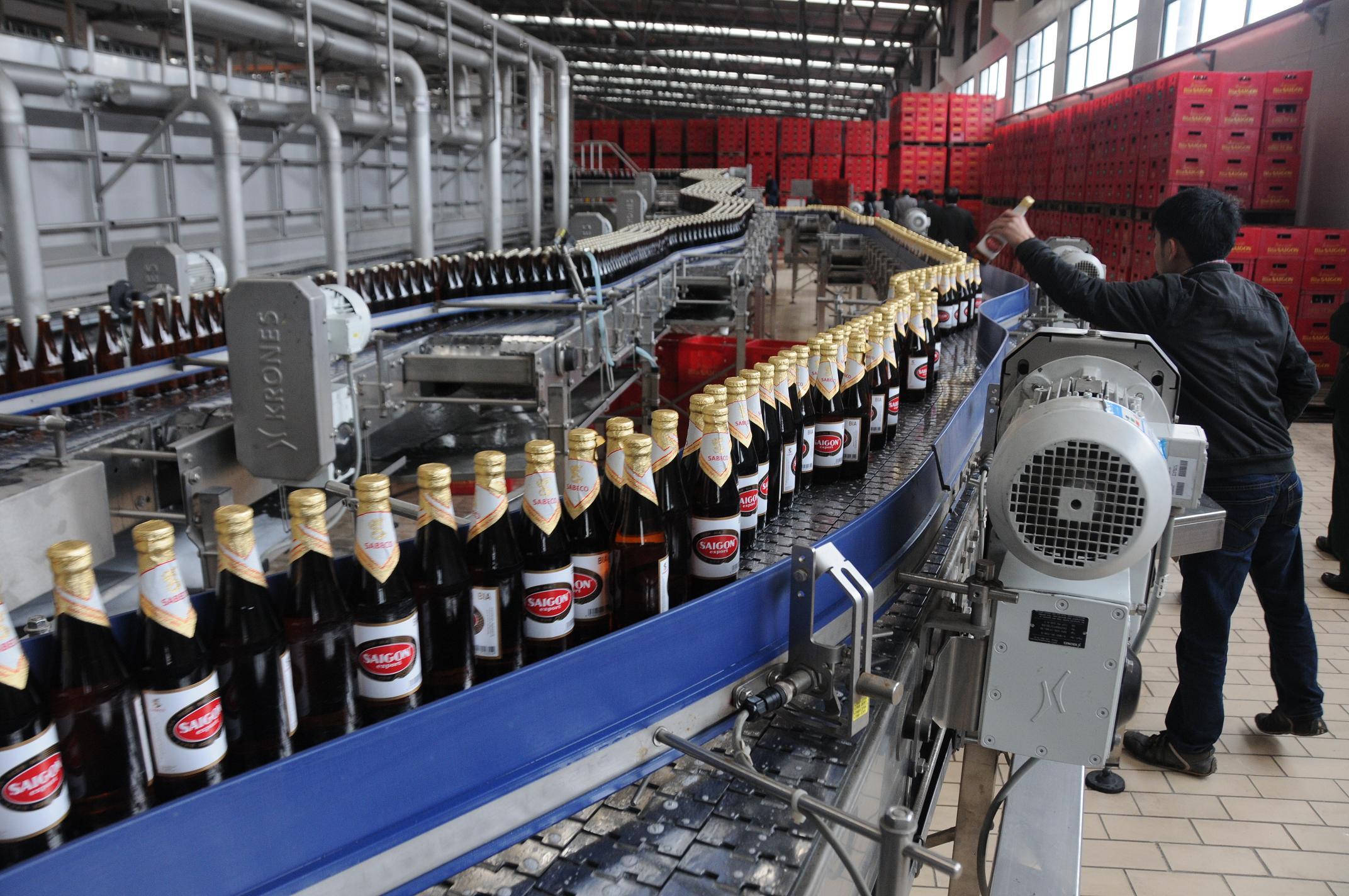 Kết quả hình ảnh cho ngành Bia – Rượu Việt Nam