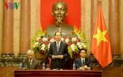 Chủ tịch nước Trần Đại Quang gặp mặt thân mật các nhà khoa học