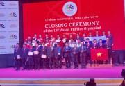 Việt Nam giành 4 Huy chương Vàng Olympic Vật lí châu Á