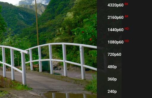 youtube khong con coi 720p la chuan hd
