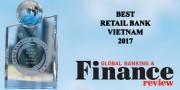 VietinBank là ngân hàng bán lẻ tốt nhất Việt Nam 2017