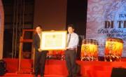 Dinh trấn Thanh Chiêm đón nhận bằng xếp hạng Di tích Quốc gia