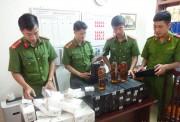 Quảng Bình: Bắt giữ lô rượu ngoại, thuốc lá lậu