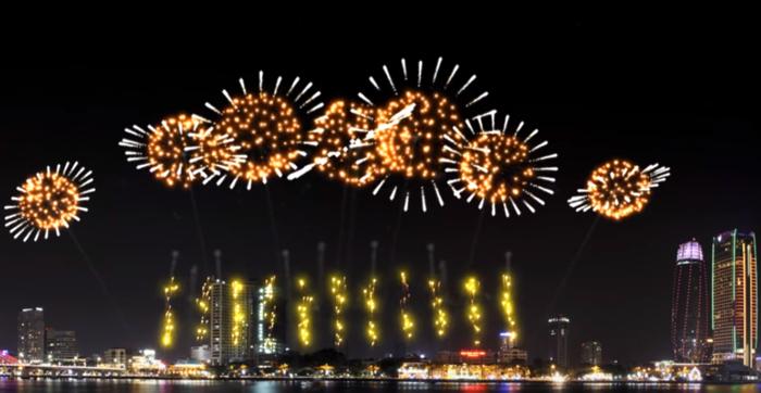 Ảo diệu những màn trình diễn pháo hoa trên máy tính 2017