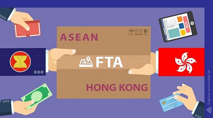 Image result for hiệp định ASEAN Hồng Kong