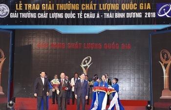 vedan viet nam vinh du nhan giai vang chat luong quoc gia nam 2018