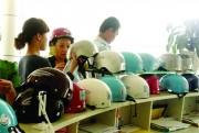 Chọn và sử dụng mũ bảo hiểm đúng cách