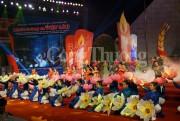 Xúc động chương trình thắp nến tri ân 'Khúc tráng ca Việt – Lào'